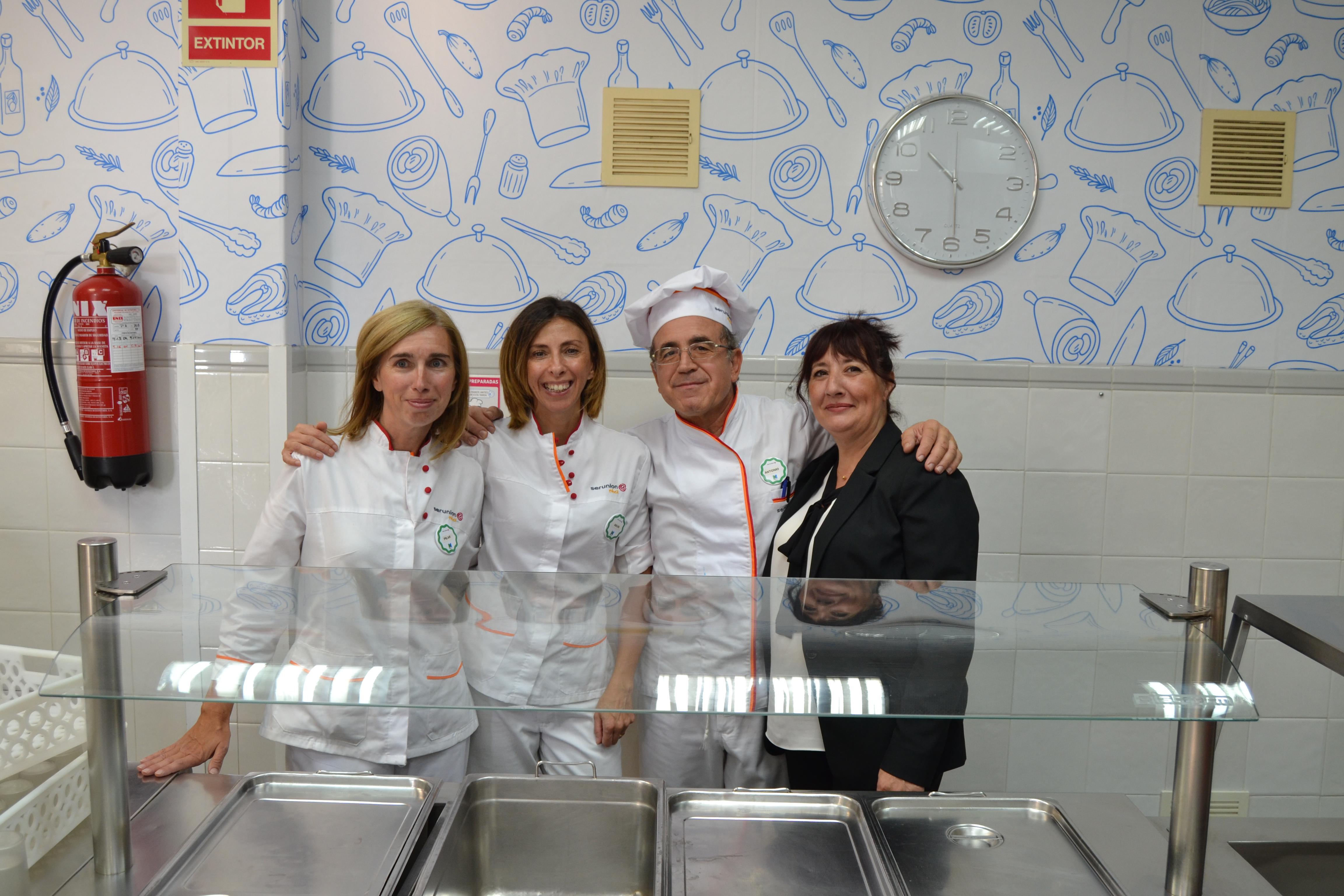 Comedor | Colegio Santa Ana y San Rafael
