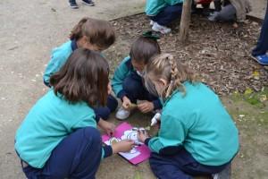 Aprendiendo en el parque